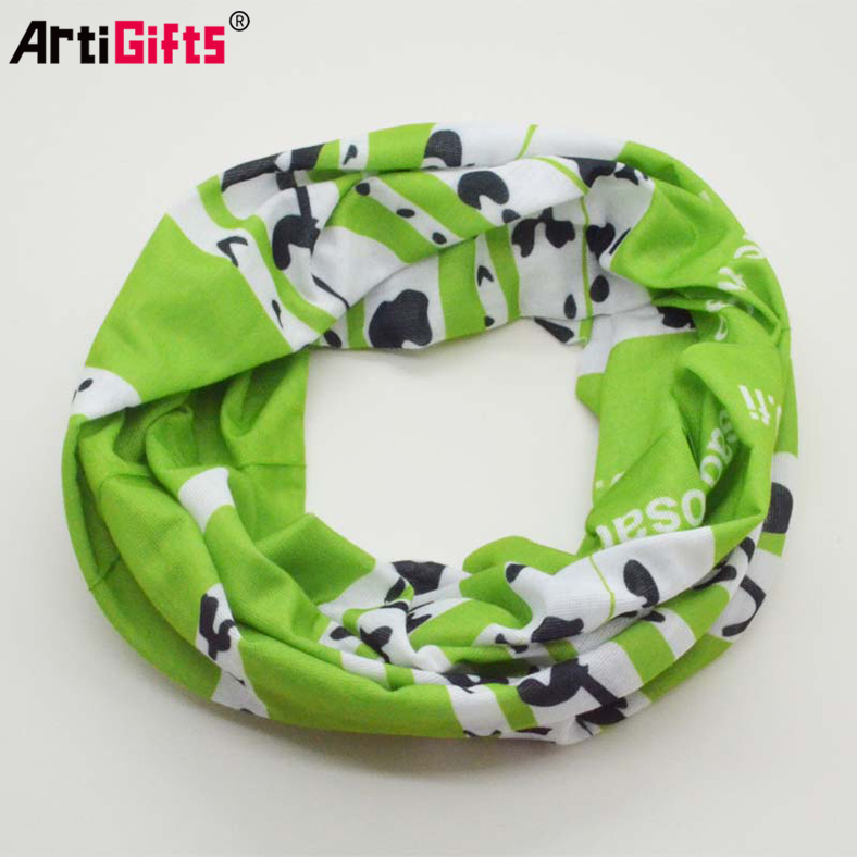 The queen of quality custom printed tubular seamless multifunctional bandana headwear