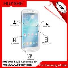 HUYSHE 2.5d 9h tempered glass screen protecter for samsung s4 mini,for samsung s4 mini tempered glass