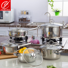 Stainless Steel Cookware Sets Cookware in 10 Pieces YA300G