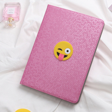 smile face Tablet Case, Leather Case For Ipad , Tablet Cover