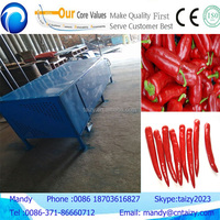 Widely used and high efficiency peper tail cutting machine chilli stem removing machine