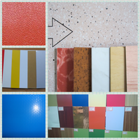 0.2mm 5052 H34 color coated aluminum plate