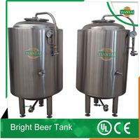 50L mico beer pilot brewing system 304 stainless steel bright beer tank