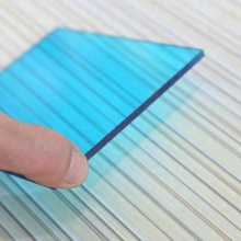 Hard coating clear blue solid lexan makrolon polycarbonate sheet 20mm price