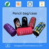 wholesale best seller columniform zipper neoprene case pencil stationery product