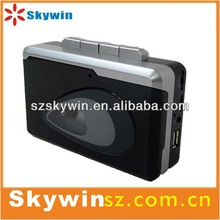 2014 portable newest Super USB Cassette Capture,USB Cassette Player with MP3 Converter