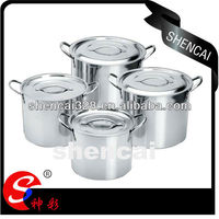 Stainless steel stock pot set hot pot casserole