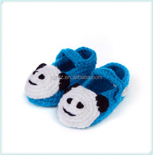 Lovely handmade knitting animal baby shoes crochet boy shoes