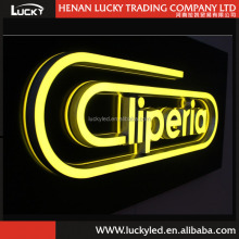 Hot Sale 3D led lights business introduction letters