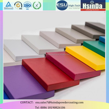 Indoor decorative smooth finishes MDF semi gloss spray powder coating