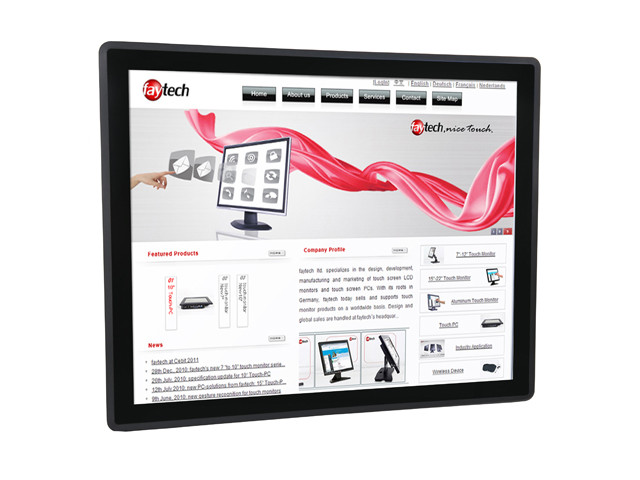 FT17J1900W4G64GCAP Industrial Touch Panel PC, Industrial PC, all in one PC, Industrial Computer 8inch