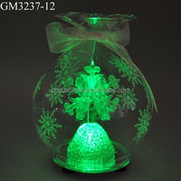 Christmas light decoration glass candy shaped ball