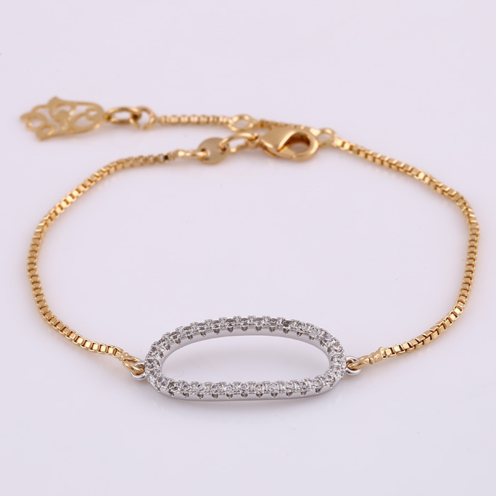 72066 indian cute girls friendship gold chain bracelets