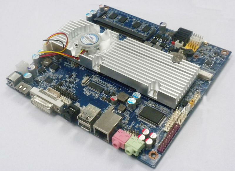 Gigabit Ethernet Router Board Embedded X86 Board for POS Terminal