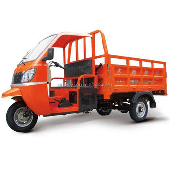 Hot Sale cargo diesel tricycles with cabin
