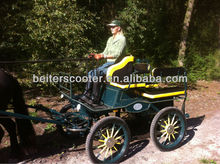 Marathon training horse carriage manufacture/ caballo de rueda del carroin best sell in 2013