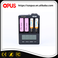 Universal smart LCD screen AA AAA alkaline battery charger