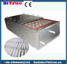 high efficiency block ice container
