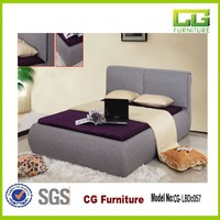 Best price king queen size cheap latest fabric bed for sale