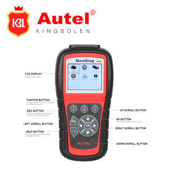 100% Original AUTEL MaxiDiag EliteMD805 All system + DS model 4 in 1 auto scannerAutel MD805 PRO (MD701+MD702+MD703+MD704)