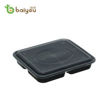 Disposable Plastic Multi-compartment Delivery Food Box Container