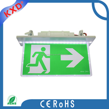 18PCS SMD led rechargeable fire emergency exit sign light
