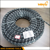 Germany Rubber Coated Wire Quarry Diamond Saw Wire For Granite Marble Sandstone Quarrying