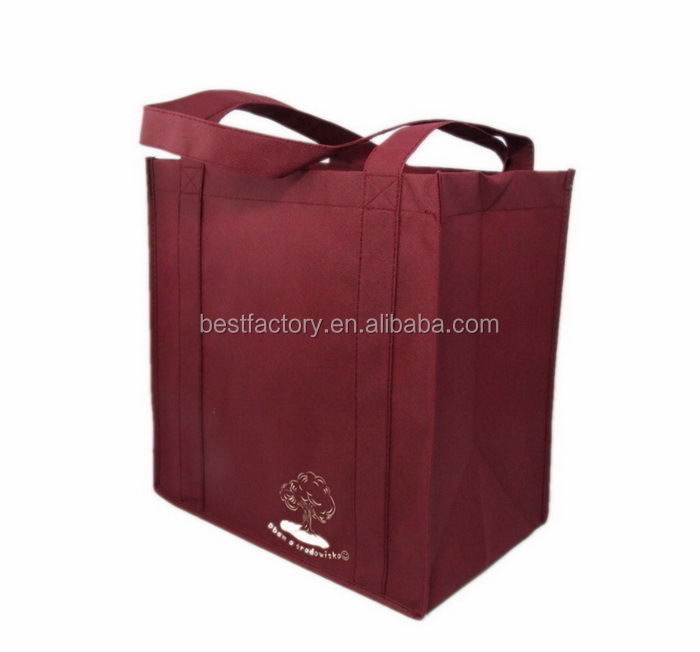 Customized top quality easy shopper, laminated non woven bag, cheese cloth bags
