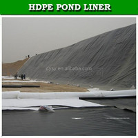 1mm / 1.5mm / 2mm waterproofing HDPE geomembrane for landfill