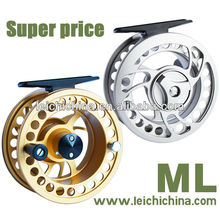 Machine cut fly reel ML super price from best China factory