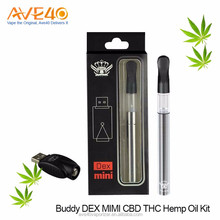 Buddy DEX MINI CBD THC Hemp Oil Kit, Free Vape Pen Starter Kit