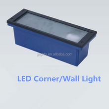Die-casting Outdoor Indoor LED step light wall corner light
