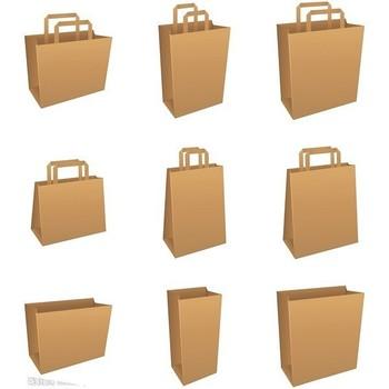 usine pas cher prix brun sacs en papier avec poign es gros buy product on. Black Bedroom Furniture Sets. Home Design Ideas