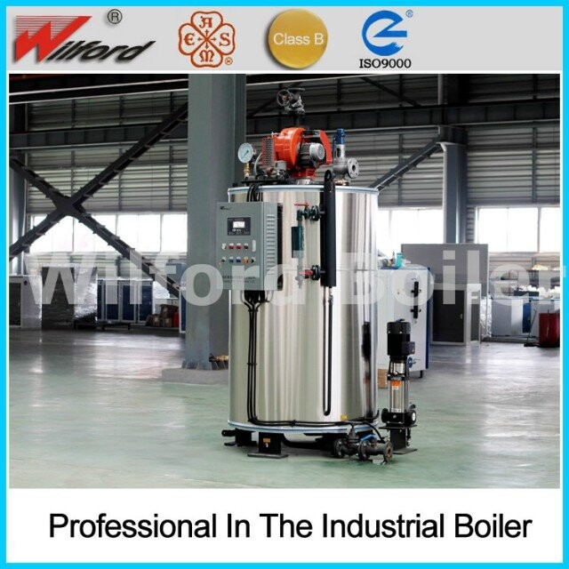 Automatic Vertical Water Tube Steam Boiler