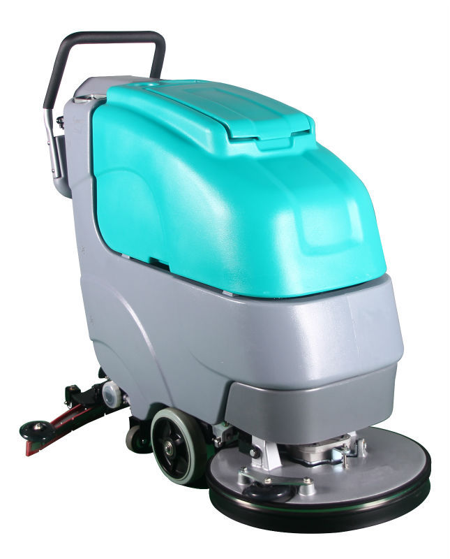 Ce approved commercial micro walk behind floor cleaning for Industrial concrete floor cleaning machines