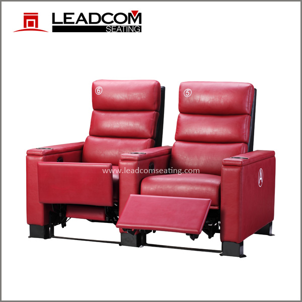 LEADCOM luxury electric vip theater sofa (LS-818)