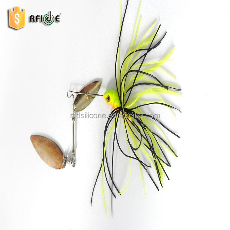 silicone skirt material soft fishing bait frog lure