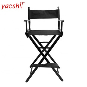 Yaeshii Aluminum Makeup Artist Chair Outdoor Furniture deluxe lightweight Portable Folding Director Camping Makeup chairs