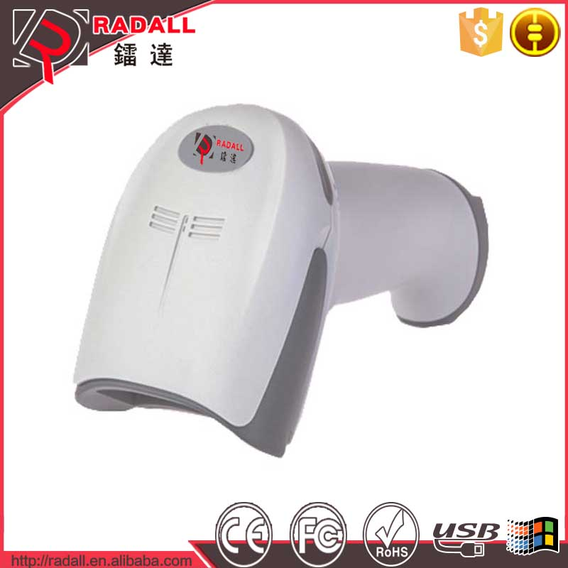 Factory Wholesale Laser Barcode Scanner Reader Gun Laser scanner low error rate high decode speed 1D scanner gun