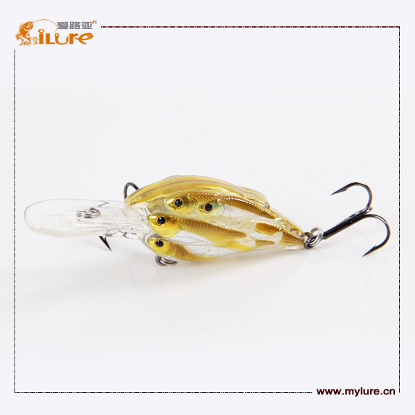 High quality hard fishing lure lure crank fishing lure for Fishing lure molds