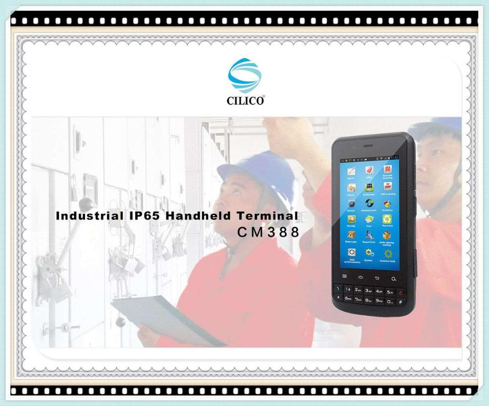 portable scanner PDA cilico CM388 Linear CCD support read ID code from phone, computer, pc barcode reader CNF mobile payment te