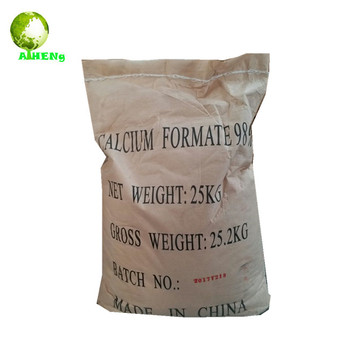 china high quality white crystal organic salt animal feed additive calcium formate 98