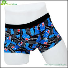 Sexy underware for men printed men boxer shorts pictures of men in underwear transparent wholesale china factory