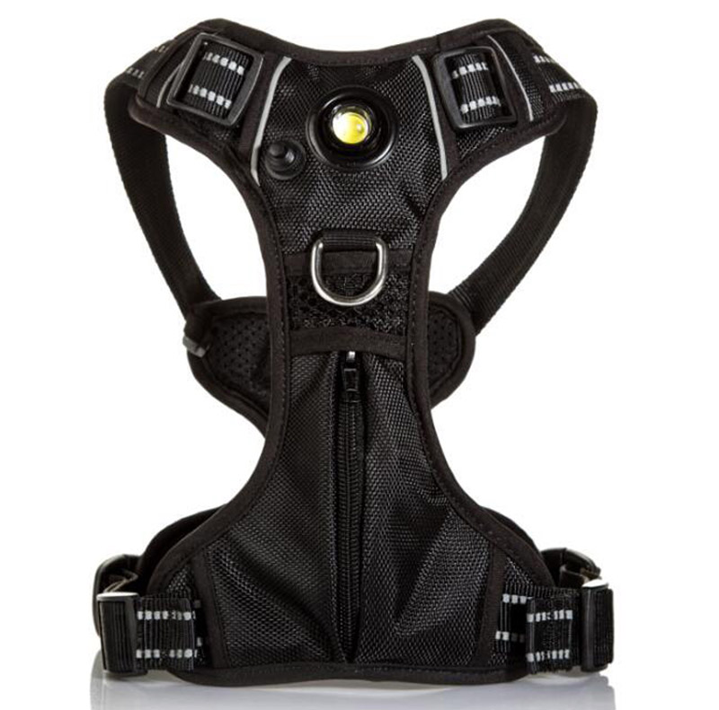 Reflective Waterproof LED outdoor dog harness pocket oem With Trade Assurance