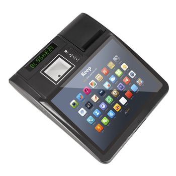 2019 new touch screen 14 and 12 inch capacitive touch screen Android POS all in one
