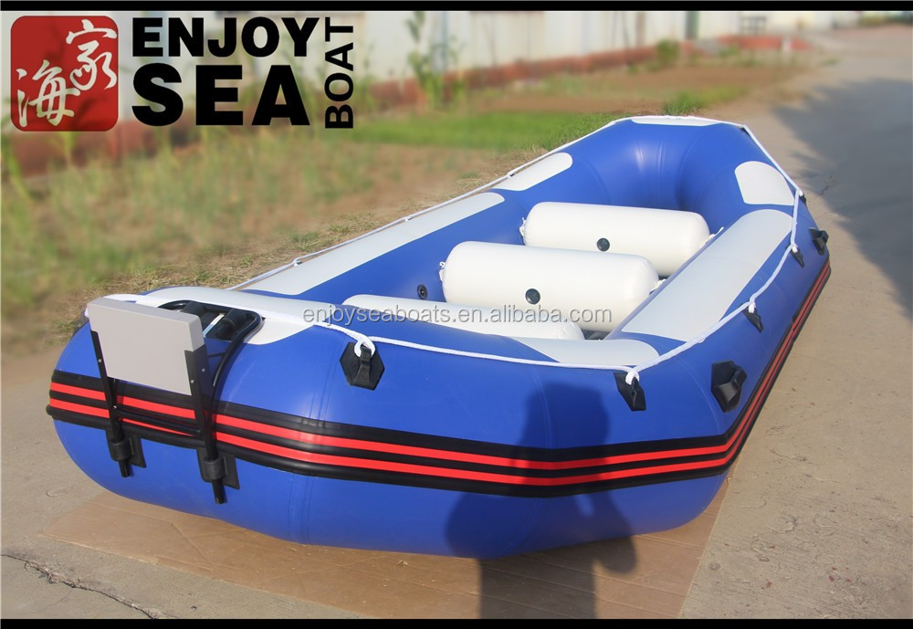 Fishing drifting use and pvc hull material inflatable for Fishing rafts for sale