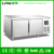 LVNI 320L double temperature and stainless steel kitchen worktop freezer