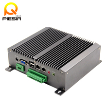 2017 New dual lan mini pc dual core Atom N550 Linux Sever Car Mini PC