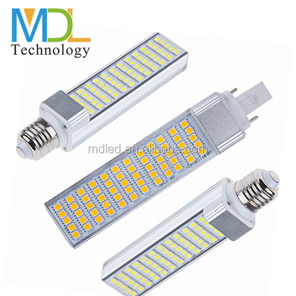 5w 7w 8w 9w 10w 11w 12w 13w 5050 smd led pl lamp g24q-3 base led corn bulb e27