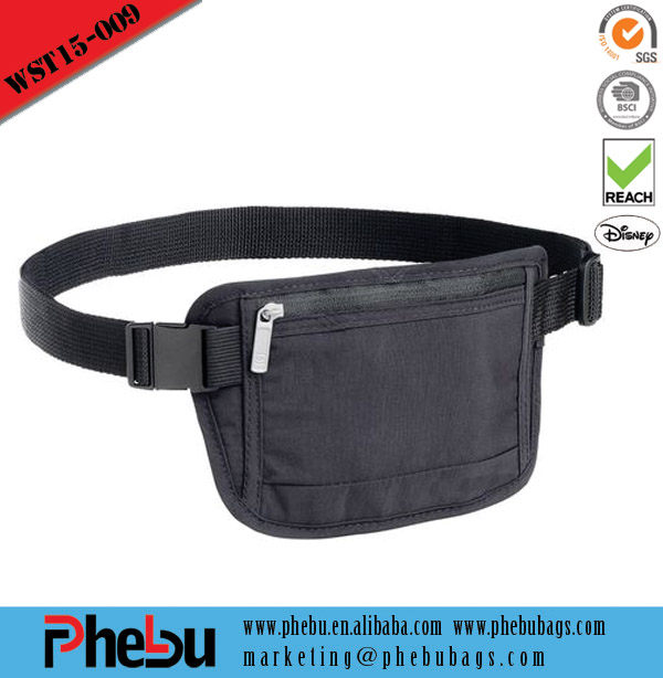 Gym bags hot selling running pack with cell phone belt bag(WST15-009)